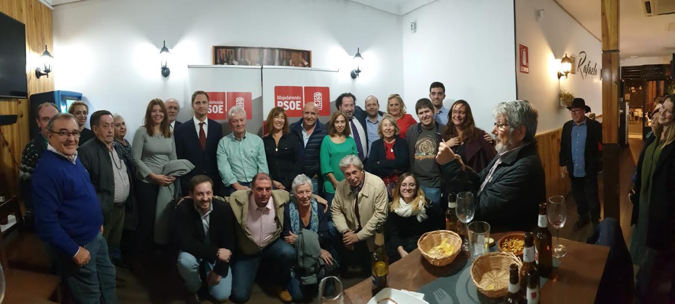 Manolo Fort (PSOE Majadahonda) capta a 5 seguidores de Zacarías Maíllo
