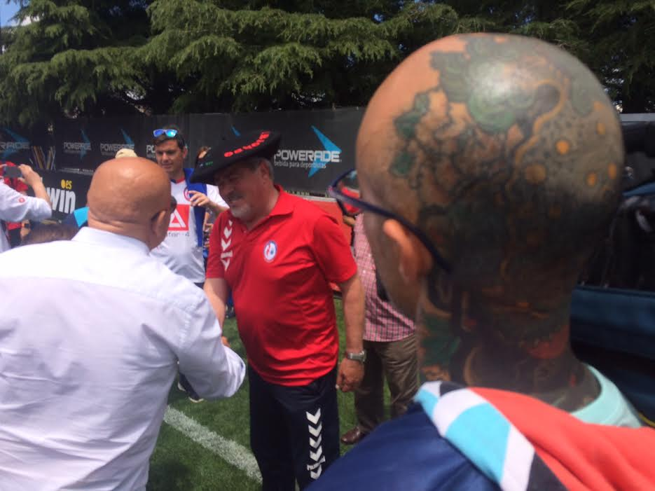 """El pasado de Iriondo en Rusia, Euskadi, San Blas y Majadahonda: """"Fútbol es fútbol"""""""