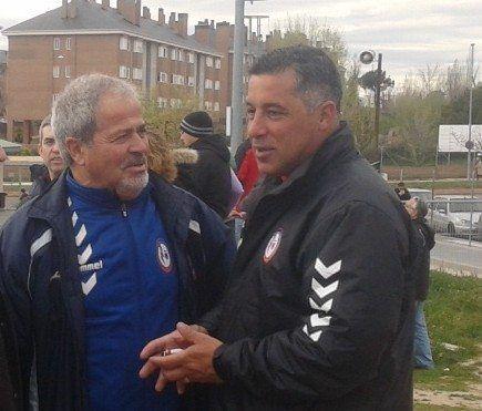 """El futbolista """"inversor"""" Arribas (Rayo Majadahonda) elogia a Oscar Mena como entrenador y el club lo oculta"""