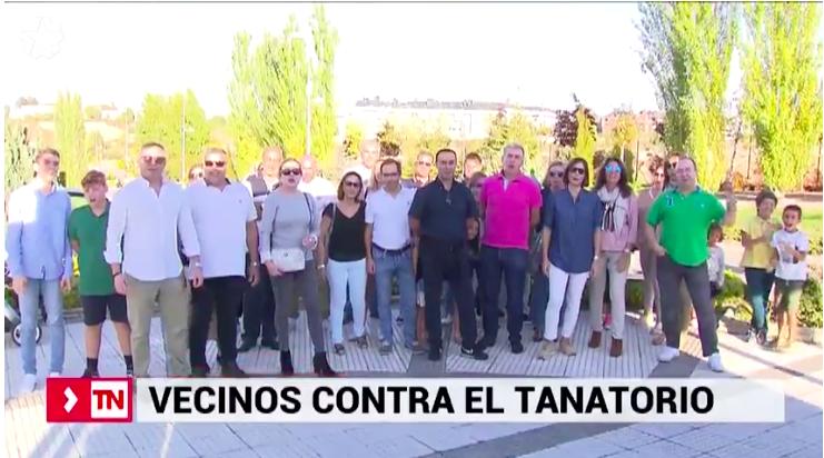 """Cs y Podemos protestan por el vídeo de Telemadrid que los excluye del """"caso Tanatorio"""""""