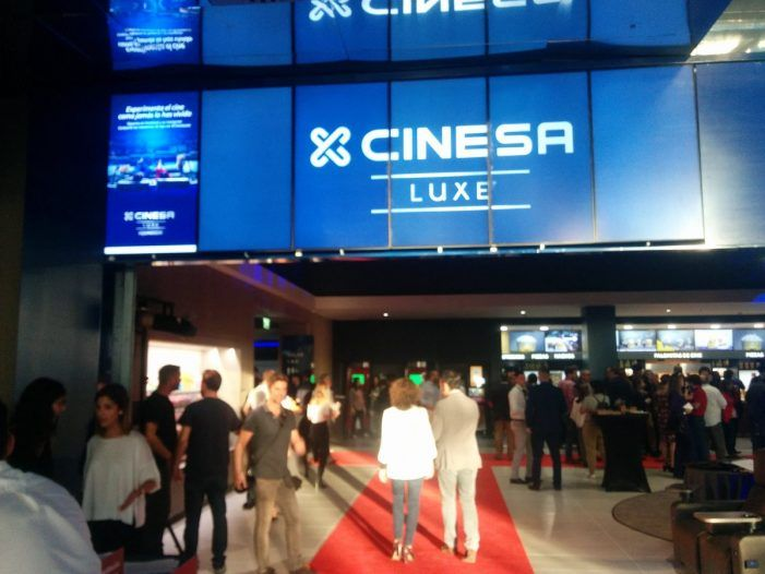 La Sala Screen (Equinoccio) se inaugura con políticos y Cines Zoco Majadahonda se lleva al público