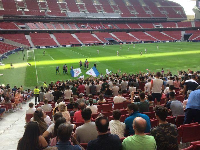 """Rayo Majadahonda rectifica al Extremadura y abre la preferencia del Wanda para la """"Mareona"""" del Sporting a 25 €"""