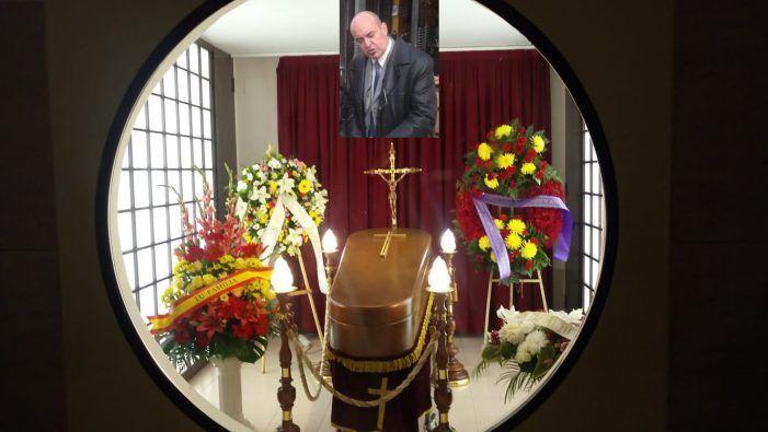 Funeral por Luis Bachiller en Majadahonda: emotiva carta de su sobrina
