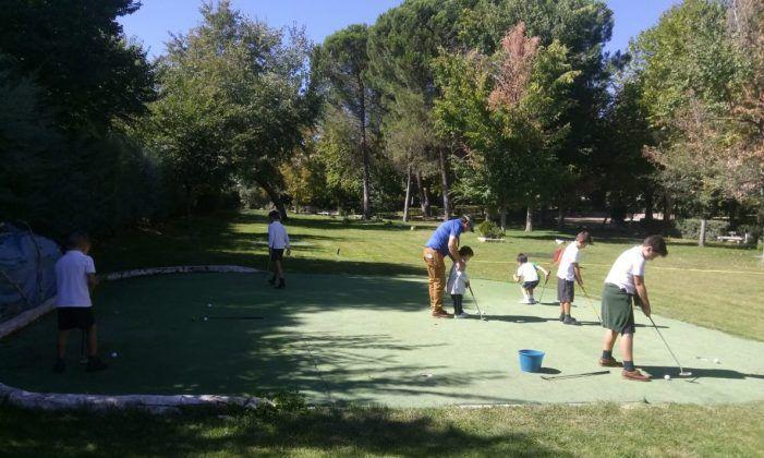 Protagonistas Deporte Majadahonda: golf (María Auxiliadora) y fútbol (Afar 4, Puerta de Madrid y K2)