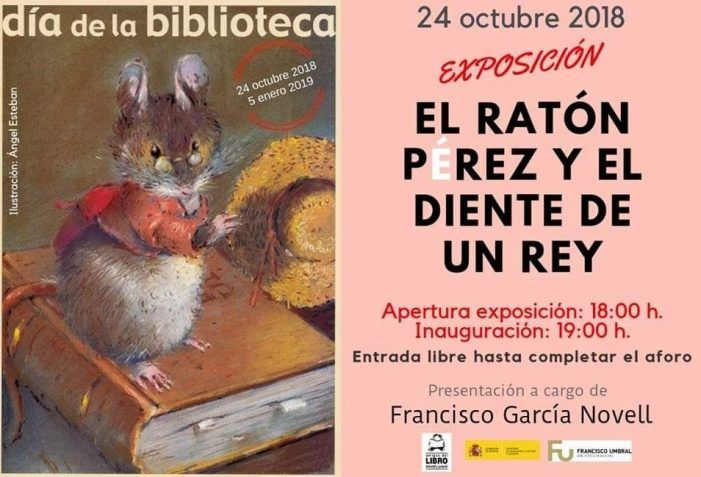 Cultura Majadahonda: Ratoncito Pérez (García Novell), Felipe Vara (Cines Zoco), Olimpiadas del Saber (IES Saramago), lectura (Salesianas)