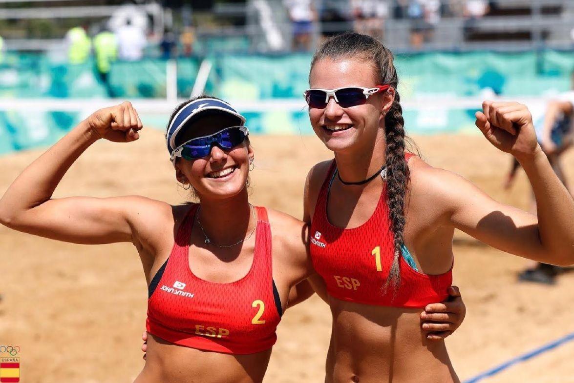 Tania Moreno (Voley Playa Majadahonda) vence y convence en las Olimpiadas de la Juventud (Argentina)