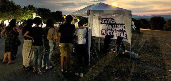 """Agresión sexual en Las Rozas: """"Punto Violeta"""" Majadahonda critica el boicot del PP y su """"Punto Blanco"""" en las Fiestas de Boadilla"""
