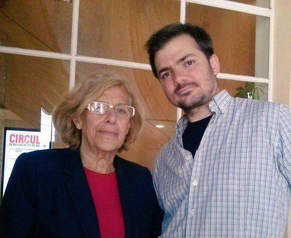 """Carmena prepara una campaña en """"vallas digitales, medios y redes"""" de Majadahonda para difundir su proyecto """"Madrid Central"""""""