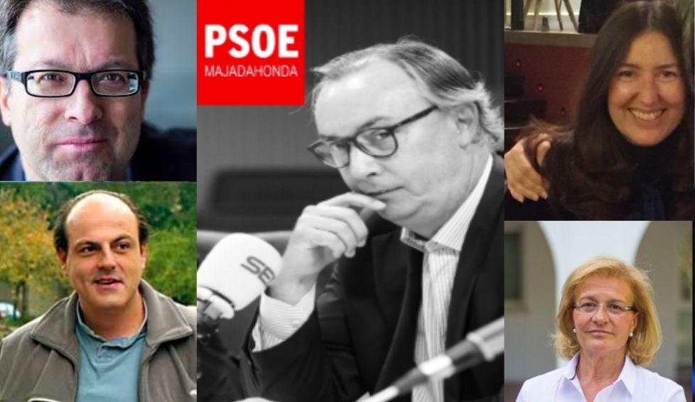"""Zacarías """"presenta a sus presentadores"""": primer acto de campaña en las primarias del PSOE Majadahonda"""
