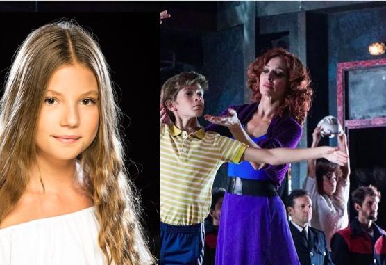 """La bailarina y cantante de Majadahonda Andrea Jiménez protagoniza con 13 años el musical """"Billy Elliot"""" en Madrid"""