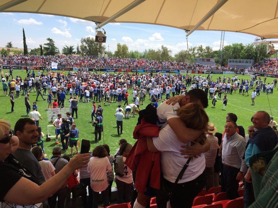 """Rayo Majadahonda entona un """"Here I go again"""" en su retorno al Cerro del Espino"""