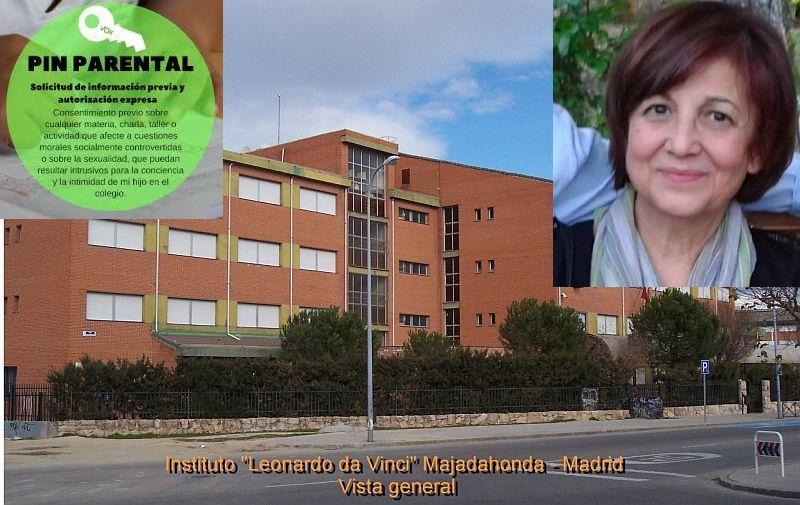 "Vox Majadahonda: ""directora Da Vinci, candidata de Somos / Podemos"", acción judicial, PIN parental"