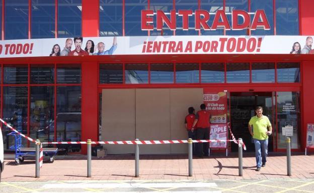 Los ladrones del Media Markt Majadahonda atacan de nuevo en Media Markt León