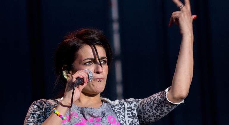 """La cantante Bebe actúa en Majadahonda contra la """"violencia machista"""" pero sin """"feminismo radical"""": Día de la Música y Cruz Roja"""