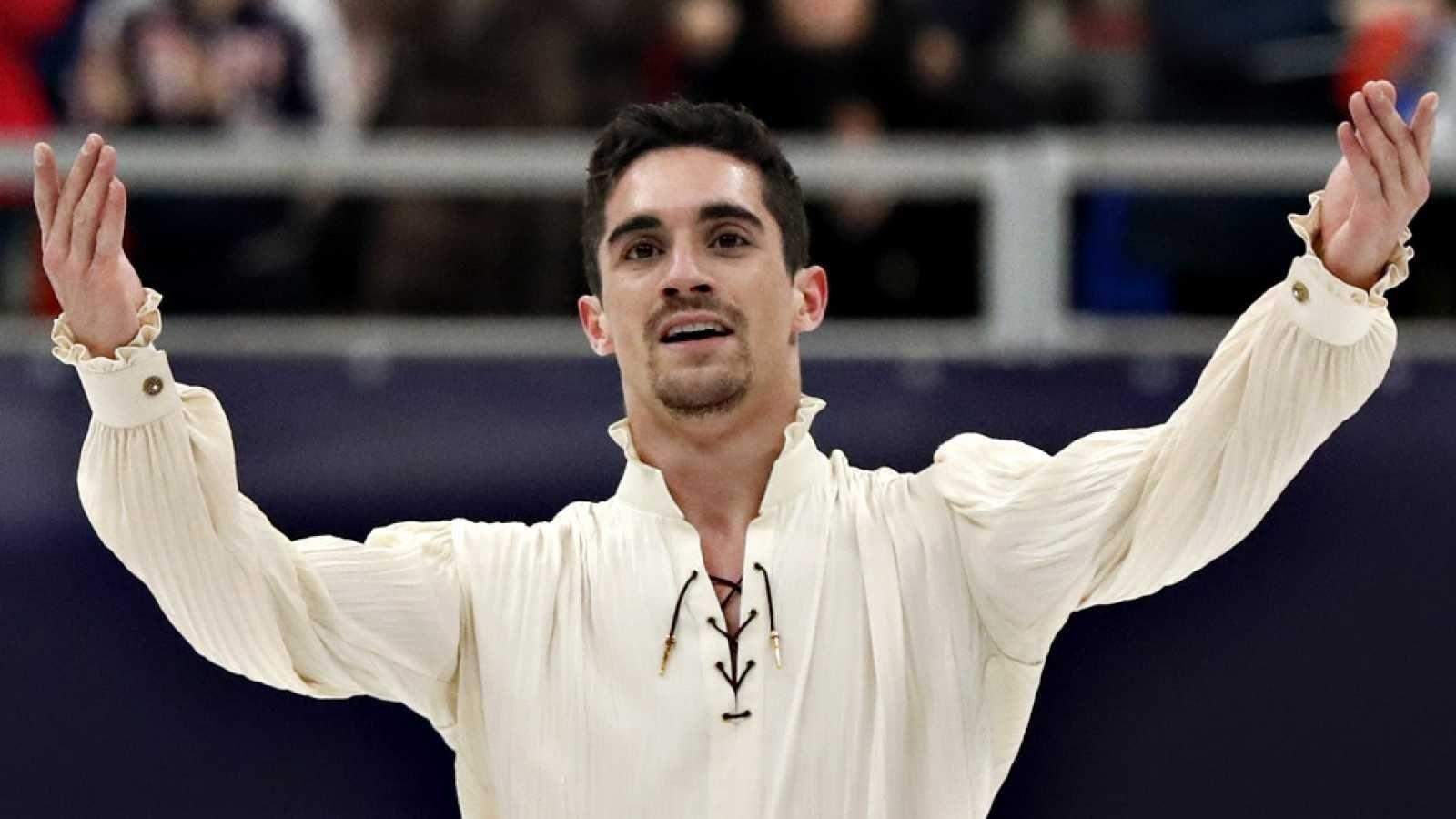 """El patinador Javier Fernández anuncia su retirada recordando Majadahonda: """"mi cuerpo o mi mente ya no llega"""""""