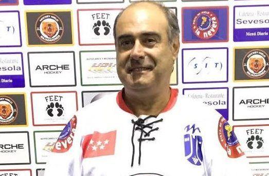 """Karlos Gordovil (Hockey Hielo Majadahonda): """"comenzamos a diferenciar entre solo competir y ganar"""""""