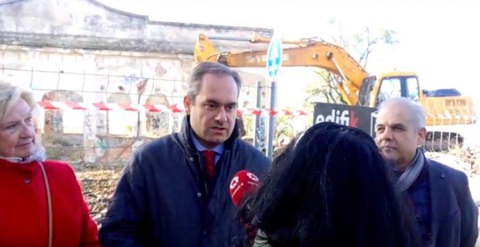 """Riquelme (PP): """"La Radio Argentina era un edificio histórico pero abandonado y deteriorado"""""""