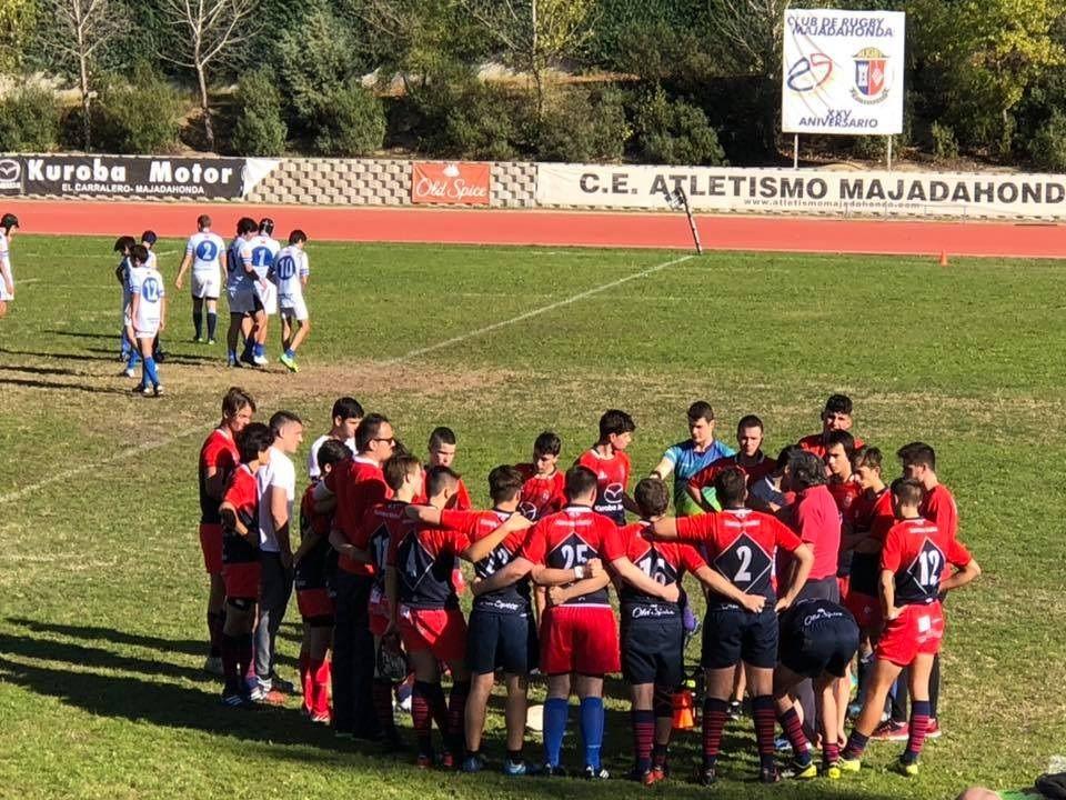 Protagonistas Deporte Majadahonda: hockey hielo (Burdeos), rugby (Liceo Francés) y fútbol (Rayo, Puerta, Afar 4, K2 y FSF)