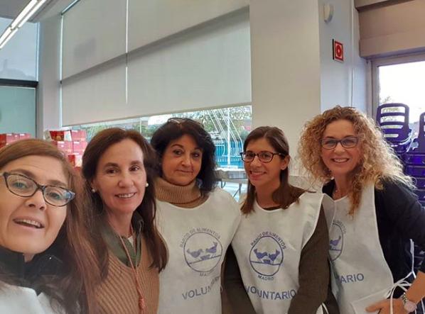Solidarios Majadahonda: recogida de alimentos (E.Leclerc, IES Margarita Salas), educación y deporte (El Tejar), Matribus y Fundación Aladina (niños con cáncer), Voluntarios (Cruz Roja)