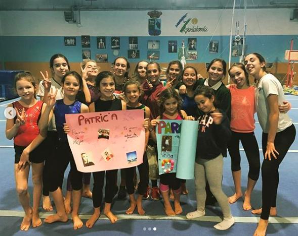 """La gimnasta olímpica Patricia Moreno se despide del Club Majadahonda (CEMG) """"con lágrimas en los ojos"""""""