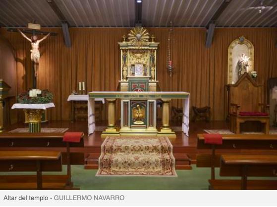 La parroquia de Santa Genoveva (Majadahonda), protagonista navideña en ABC: trabas municipales, atentados y robos