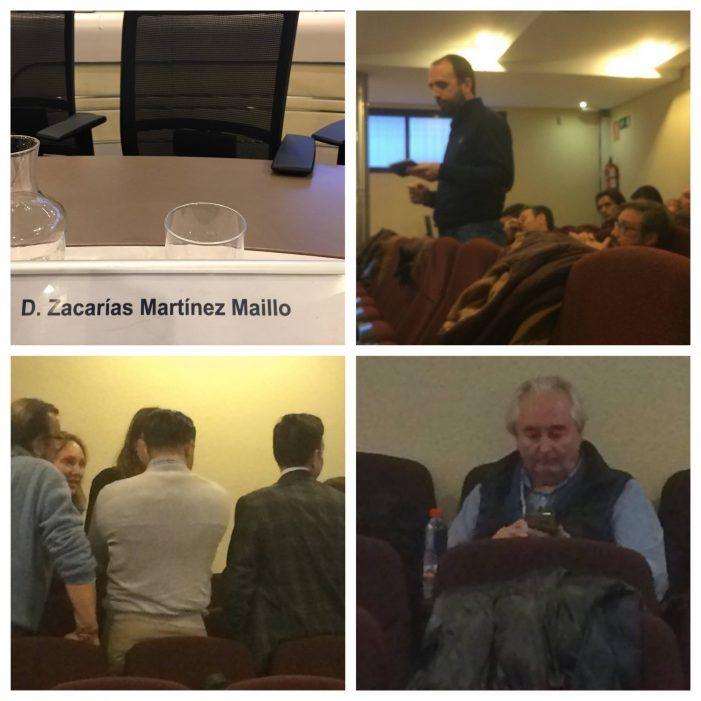 """Zacarías, Vox, VpMJ y Rugby dan las """"campanadas"""" en el último pleno de Majadahonda 2018"""