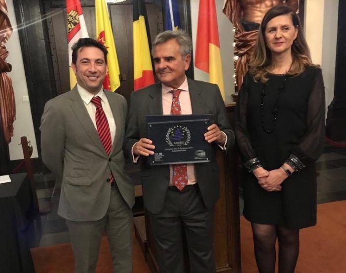 Alonso (Festejos Majadahonda) atribuye a Cultura el Premio Navidad 2018 obtenido en Bélgica