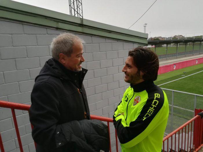 """Iriondo ante la """"mala racha"""" (Aitor García): """"No tenemos un jugador que las enchufa todas, el gol cuesta mucho dinero"""""""