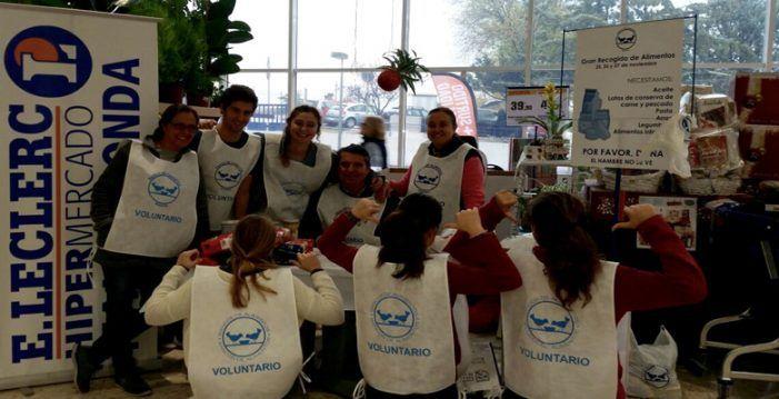 """""""Gran recogida"""" de comida en E.Leclerc Majadahonda con destino humanitario al Banco de Alimentos"""
