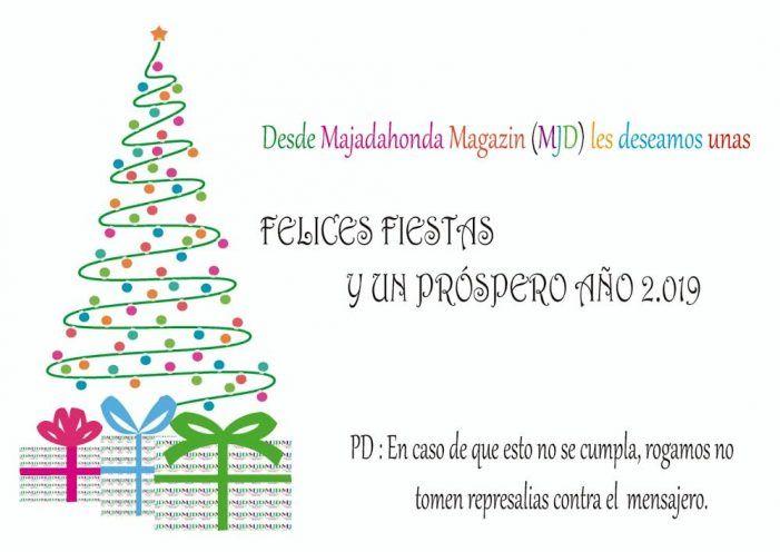 """MJD Magazin desea a todos Feliz Navidad y Próspero 2019 """"sin represalias al mensajero"""""""