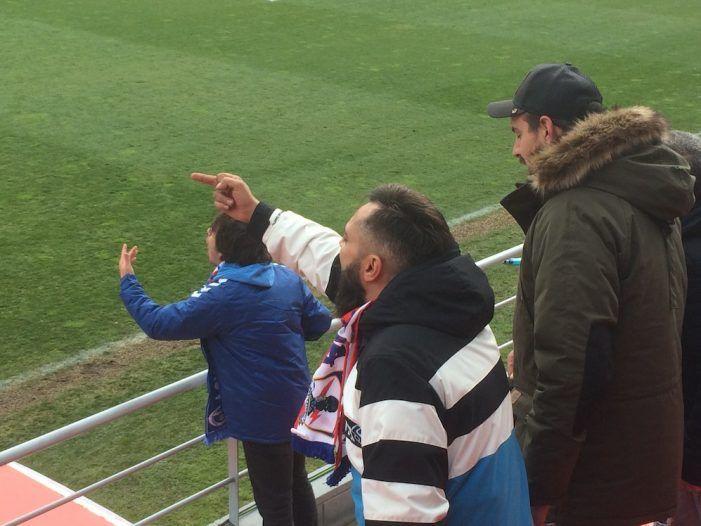 La afición del Rayo Majadahonda cuestiona a algunos jugadores y la táctica de Iriondo (1-3)