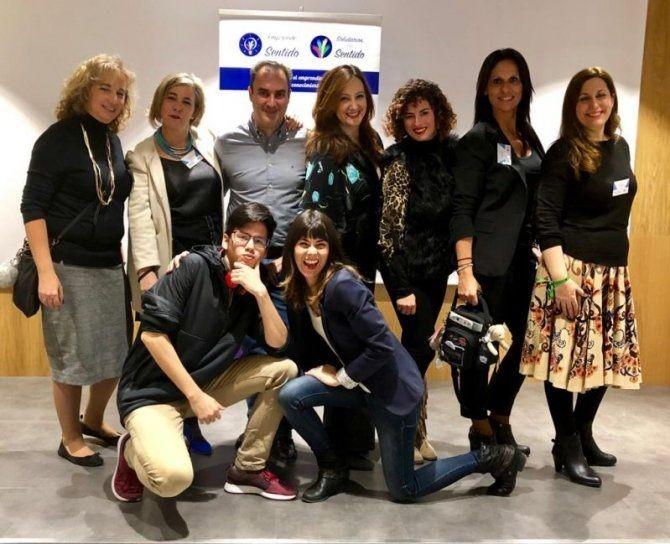 """La Agencia Efe dedica un reportaje a la labor de la asociación """"Emprende con Sentido"""" de Majadahonda"""