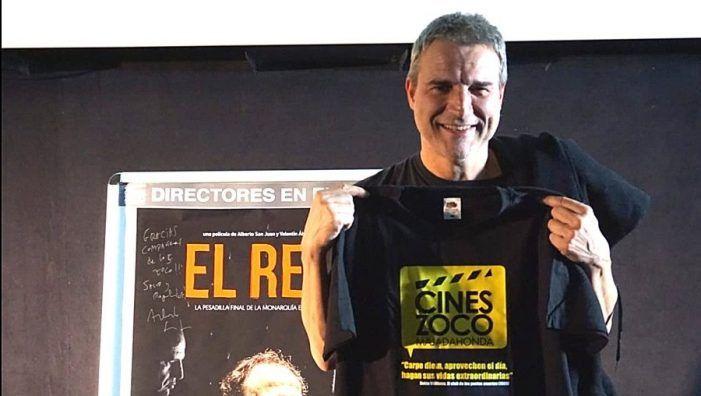 """El actor Alberto San Juan en los Cines Zoco Majadahonda: """"La familia de Franco debe enterrarlo donde considere y los de Paracuellos también"""""""