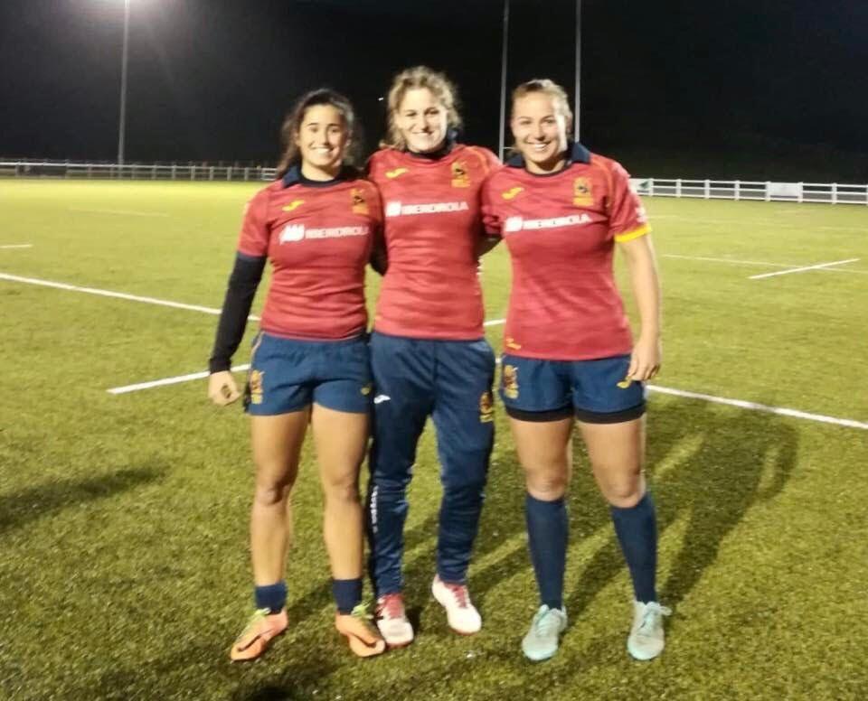 Rugby Femenino: Lucía Díaz, Carmen Rodera y Marta Estellés (CR Majadahonda) triunfan con España en Northumberland y Newcastle