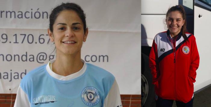 """Protagonistas Fútbol Majadahonda: Marta Mateo y """"Peque"""", Toni Martínez, Schiappacasse"""