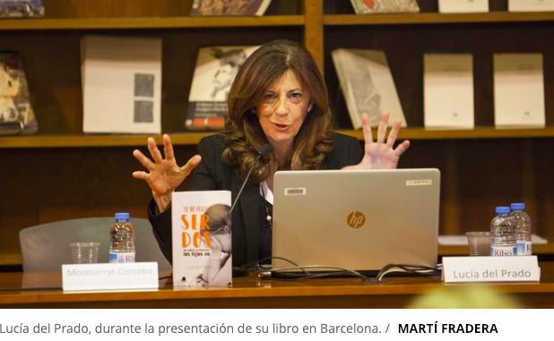 """Lucía del Prado (Fundación Filia Majadahonda) en Barcelona: """"manipular hijos en divorcios conflictivos debería ir al Código Penal"""""""