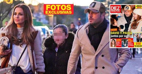 Antena 3 Noticias asegura que el reencuentro de Paula Echevarría y Bustamante en Majadahonda se debió a que van a cerrar ya su divorcio