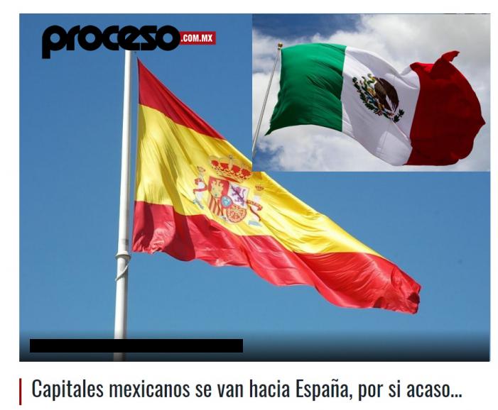 """La revista """"Proceso"""" detecta fuga de empresas y pymes mexicanas hacia Majadahonda por causas políticas"""