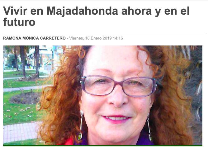 """La candidata de Podemos Majadahonda pronostica que saldrá elegida concejala """"en el futuro"""""""