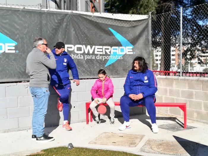 """Fútbol Majadahonda: Del Val, Simeone y """"Mono"""" Burgos, Andrea Feijoo, Afar 4, Puerta Madrid y K2"""
