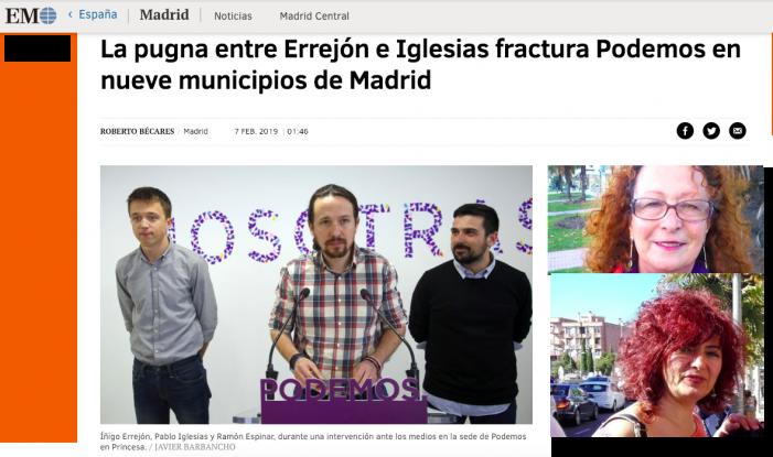 """Errejón e Iglesias fracturan Podemos Majadahonda """"como en la película de Monty Python con el Frente Popular de Judea"""""""