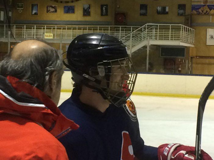 """Gordovil (Majadahonda Hockey Hielo): """"Fue una noche de gran decepción y tristeza pero ganamos respeto"""""""