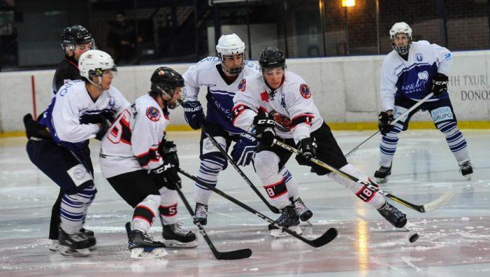 """Hockey Hielo: SAD Majadahonda da la sorpresa y se cuela en los """"play off"""" tras perder contra el Barsa (4-6) y ganar en Txuri Urdin (4-9)"""
