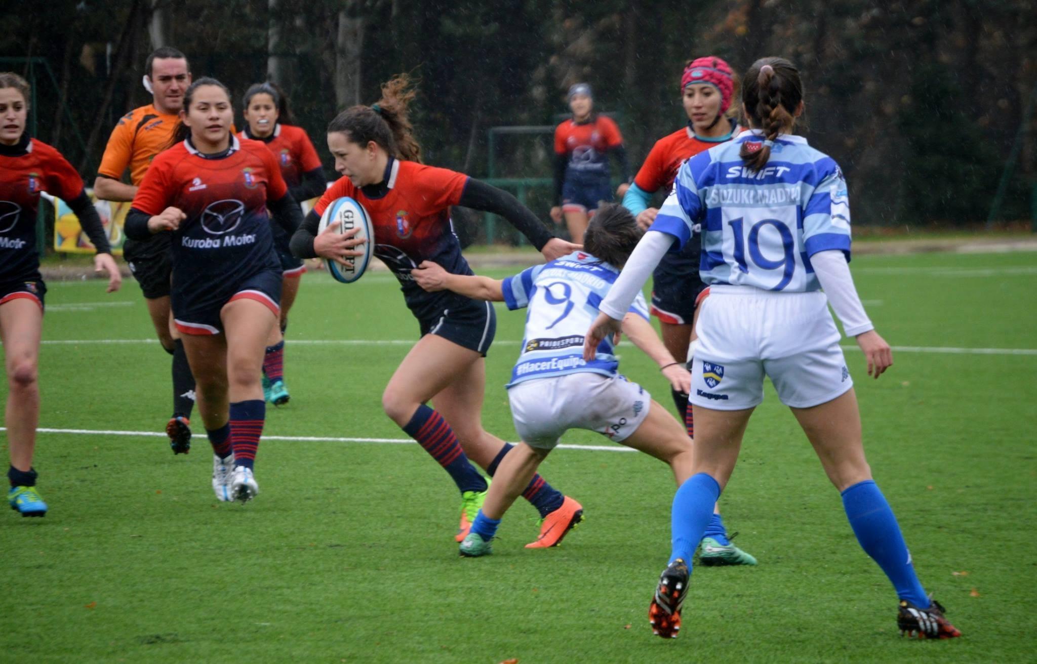 """Protagonistas Deporte Majadahonda: victorias en Rugby (""""derby"""" y Guadalajara), 3 triunfos en Baloncesto y Waterpolo y todo el Fútbol base"""