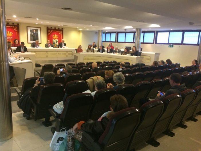 """Pleno Majadahonda: dimisión de Ortiz, """"anti okupas"""", Roza Martín, otra biblioteca, pymes y autónomos"""