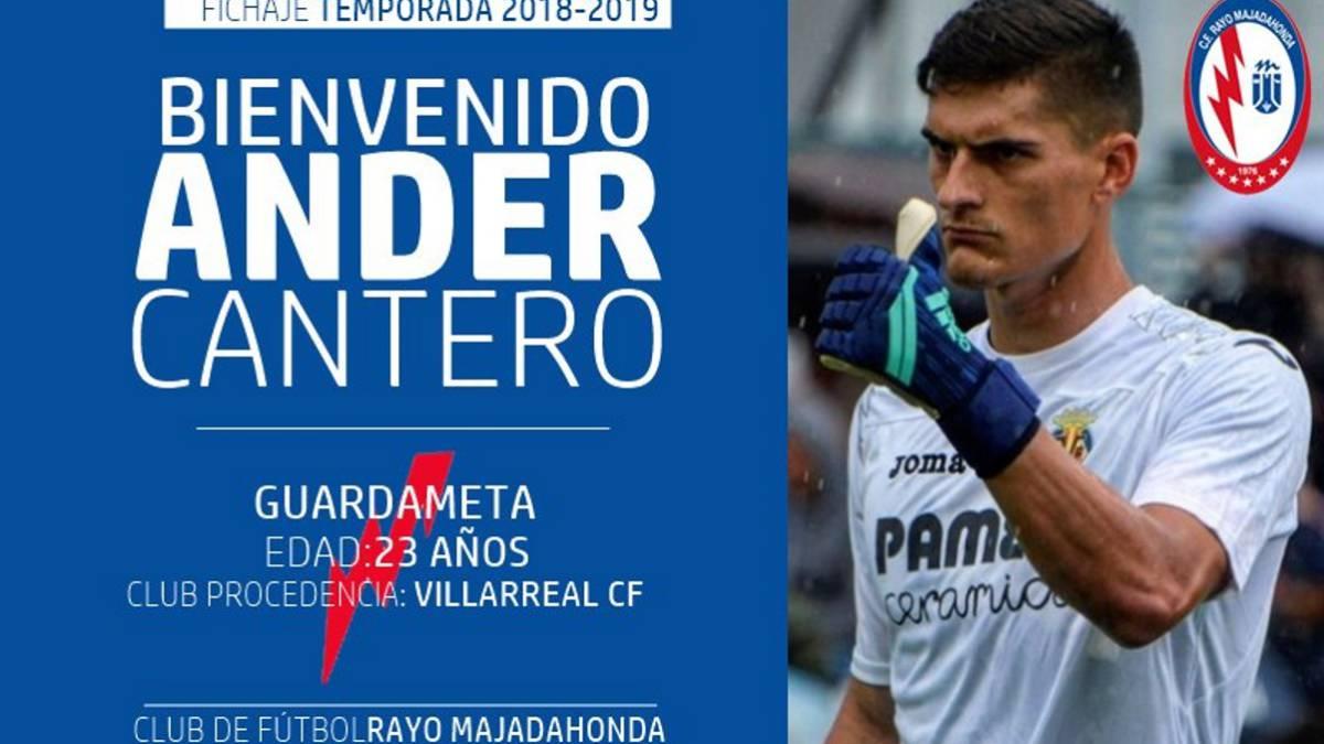 """Cantero regresa a Osasuna con el Rayo Majadahonda y confía ser titular: """"es la primera vez que voy a jugar en el Sadar"""""""