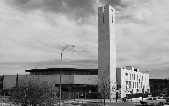 """""""Tomás Moro (Majadahonda) es una de las 33 iglesias más espeluznantes de Madrid"""""""