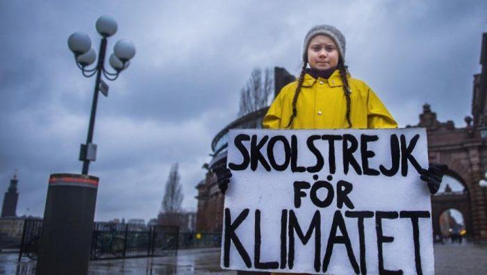 Una estudiante de Majadahonda protagoniza la manifestación contra el cambio climático