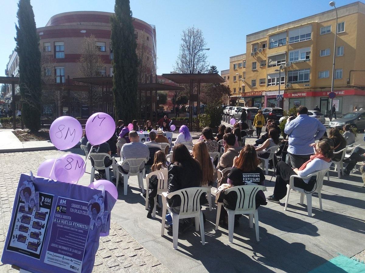"""Las feministas de Majadahonda critican la """"descoordinación"""" de Feminismos Sierra Noroeste"""