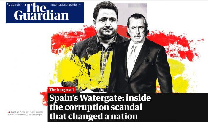 "El ex concejal de Majadahonda Pepe Peñas alcanza la ""gloria"": portada en ""The Guardian"""